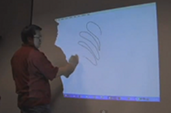 Wiimote whiteboard